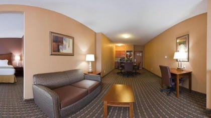 Living Room | Holiday Inn Express Hotel & Suites Suffolk