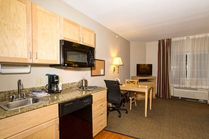 In-Room Kitchen | Candlewood Suites Ft Myers I75