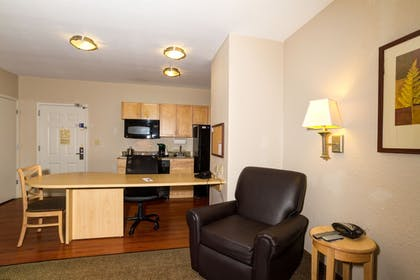 Living Area | Candlewood Suites Ft Myers I75