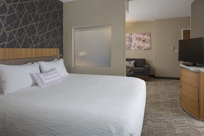 Guestroom | SpringHill Suites by Marriott St. Louis Airport/Earth City