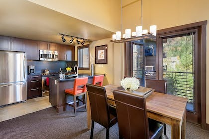 In-Room Kitchen | Hotel Terra Jackson Hole - A Noble House Resort