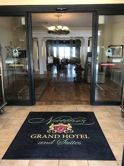 Interior Entrance | Natchez Grand Hotel