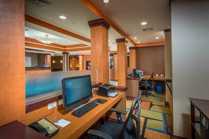 Business Center | Fairfield Inn & Suites by Marriott Augusta