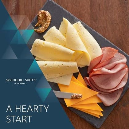 Breakfast buffet | Springhill Suites by Marriott Louisville Airport