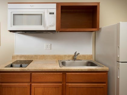 In-Room Kitchen | WoodSpring Suites Jackson South