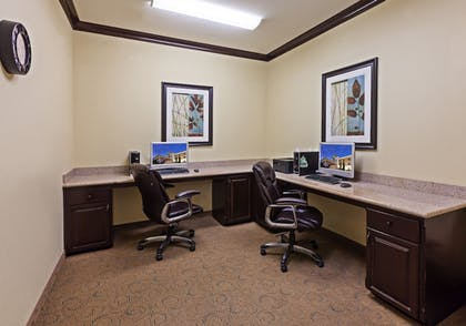 Business Center | Holiday Inn Express Hotel & Suites Victoria