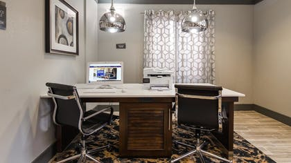 Business Center | Best Western Plus Philadelphia-Choctaw Hotel and Suites