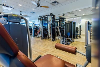 Fitness Facility | WaterSound Inn