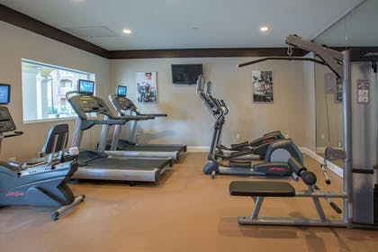 Gym | The Point Hotel & Suites