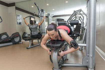 Fitness Facility | The Point Hotel & Suites