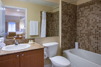 Bathroom | The Point Hotel & Suites