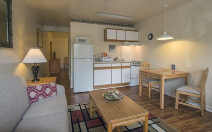 In-Room Kitchen | Affordable Corporate Suites - Florist Road
