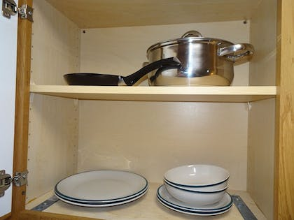 In-Room Kitchen | Affordable Corporate Suites