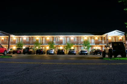 Front of Property - Evening/Night | Affordable Corporate Suites
