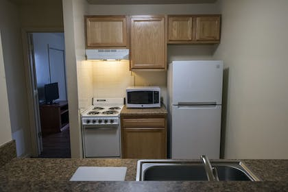 In-Room Kitchenette | Affordable Corporate Suites