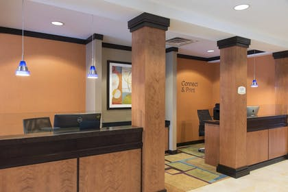 Business Center | Fairfield Inn & Suites by Marriott Omaha Downtown