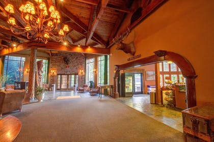 Interior Entrance | The Retreat on Charleston Peak