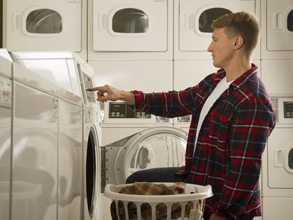 Laundry Room | WoodSpring Suites Indianapolis Lawrence