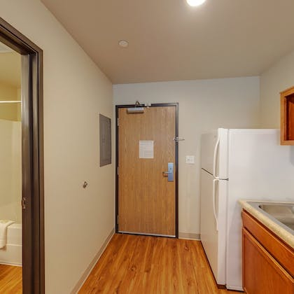 In-Room Kitchenette | WoodSpring Suites Indianapolis Lawrence
