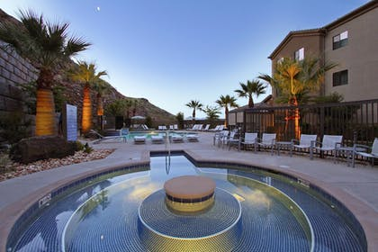 Outdoor Spa Tub | TownePlace Suites by Marriott St. George