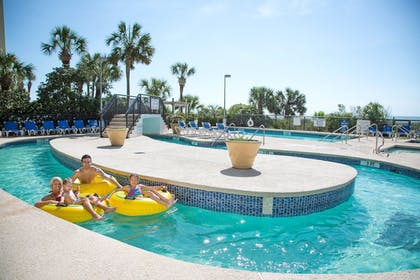 Outdoor Pool | Captain's Quarters Resort