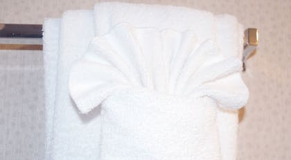 Bathroom Amenities | Captain's Quarters Resort