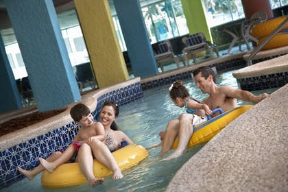 Indoor Pool | Captain's Quarters Resort