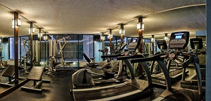 Fitness Facility | Captain's Quarters Resort