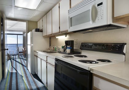 In-Room Kitchen | Captain's Quarters Resort