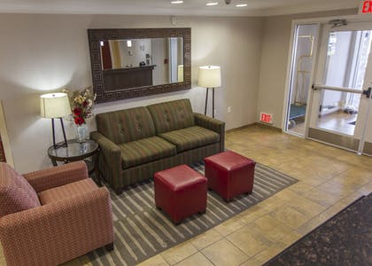 Lobby Sitting Area | Mainstay Suites Casper