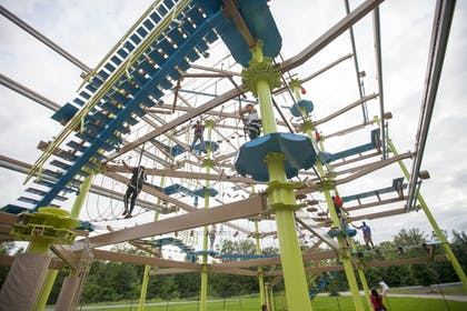 Ropes Course (Team Building) | Great Wolf Lodge Grapevine