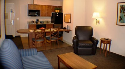 Living Room | Candlewood Suites Greenville NC