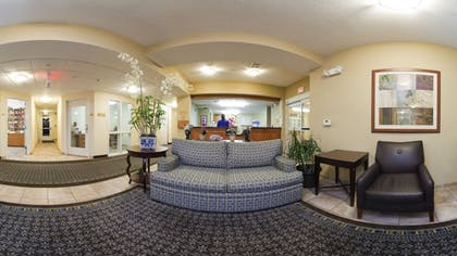 Lobby Sitting Area | Candlewood Suites Greenville NC
