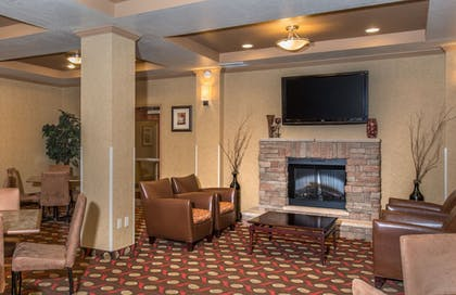Lobby Sitting Area | Holiday Inn Express Hotel & Suites Lavonia