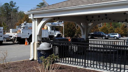 Terrace/Patio   Candlewood Suites Colonial Heights Fort Lee
