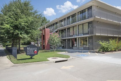 Hotel Front | Markham House Suites - Little Rock Medical Center