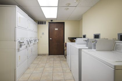Laundry Room | Markham House Suites - Little Rock Medical Center
