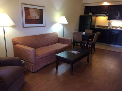 In-Room Kitchenette | Markham House Suites - Little Rock Medical Center