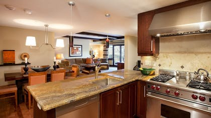 In-Room Kitchen | Lumiere with Inspirato.
