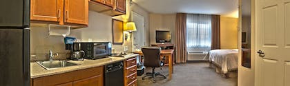In-Room Kitchen | Candlewood Suites Indianapolis - South