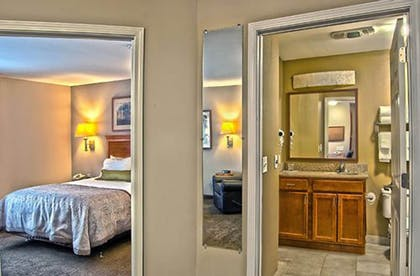 Bathroom | Candlewood Suites Indianapolis - South