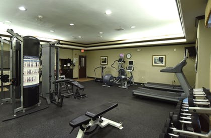 Fitness Facility | Holiday Inn Express Hotel & Suites Seguin