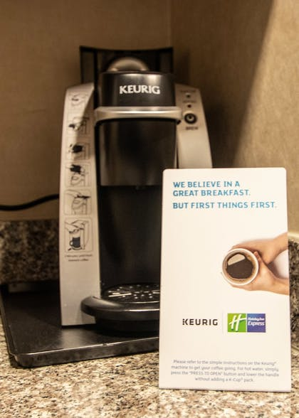 In-Room Coffee | Holiday Inn Express Yreka-Shasta Area