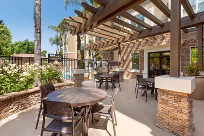 Terrace/Patio | Comfort Inn & Suites near Ontario Airport