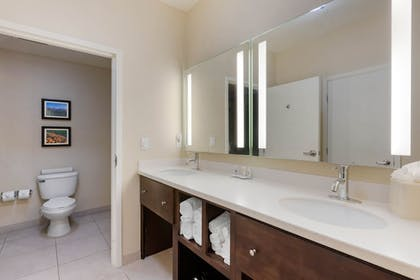 Bathroom | Comfort Inn & Suites near Ontario Airport
