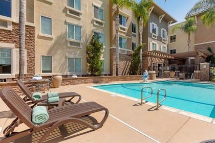 Outdoor Pool | Comfort Inn & Suites near Ontario Airport