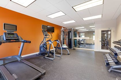 Fitness Facility | Comfort Inn & Suites near Ontario Airport