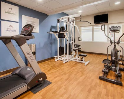 Fitness Facility | Comfort Suites Eugene