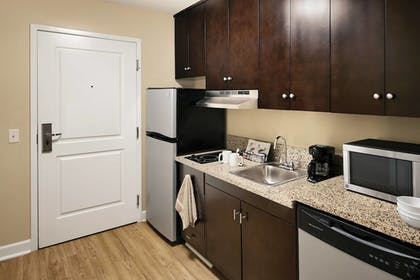 In-Room Kitchen | TownePlace Suites Harrisburg Hershey