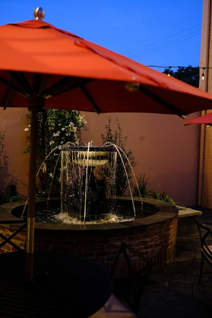 Fountain | Royal Frenchmen Hotel and Bar